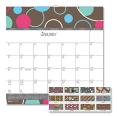House of Doolittle™ 100% Recycled Bubbleluxe Wall Calendar