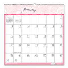 House of Doolittle™ Recycled Breast Cancer Awareness Monthly Wall Calendar, 12 x 12, 2022