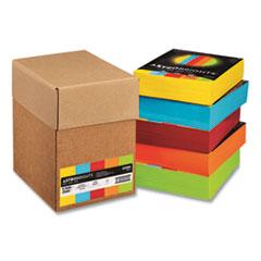Astrobrights® Color Paper - Five-Color Mixed Carton, 24 lb, 8.5 x 11, Assorted, 500 Sheets/Ream, 5 Reams/Carton