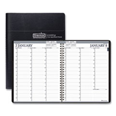 House of Doolittle(TM) 100% Recycled Professional Weekly Planner Ruled for 15-Minute Appointments