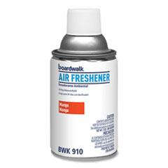 Boardwalk® Metered Air Freshener Refill, Mango, 5.3 oz Aerosol Spray, 12/Carton