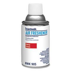 Boardwalk® Metered Air Freshener Refill, Cherry, 5.3 oz Aerosol, 12/Carton
