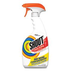 Shout® Laundry Stain Treatment, 22 oz Spray Bottle, 8/Carton