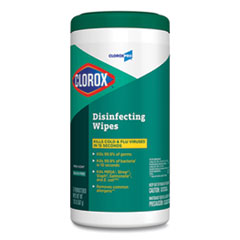 Clorox® Disinfecting Wipes, 7 x 8, Fresh Scent, 75/Canister