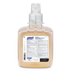 PURELL® Healthy Soap 2.0% CHG Antimicrobial Foam for CS6 Dispensers, Fragrance-Free, 1,200 mL, 2/Carton
