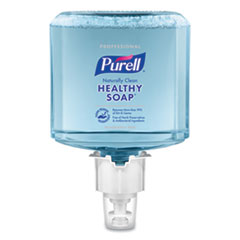PURELL® Professional CRT HEALTHY SOAP Naturally Clean Fragrance-Free Foam ES6 Refill, 1,200 mL, 2/Carton