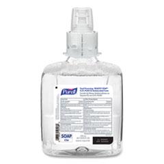 PURELL® Food Processing HEALTHY SOAP 0.5% PCMX Antimicrobial E2 Foam Handwash, For CS6 Dispensers, Fragrance-Free, 1,200 mL, 2/Carton