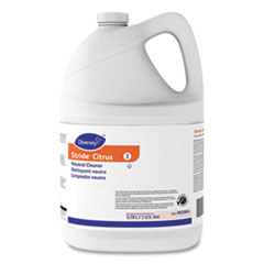 Diversey™ Stride Neutral Cleaner, Citrus, 1 gal, 4 Bottles/Carton