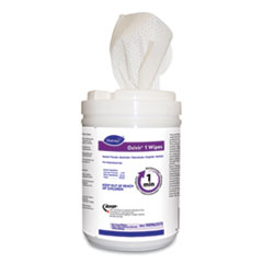 "Diversey™ Oxivir 1 Wipes, Characteristic Scent, 10"" x 10"", 60 Wipes, 12/Carton"