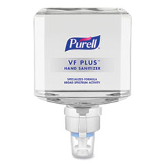 PURELL® VF PLUS Hand Sanitizer Gel, 1,200 mL Refill Bottle, Fragrance-Free, For ES8 Dispensers, 2/Carton