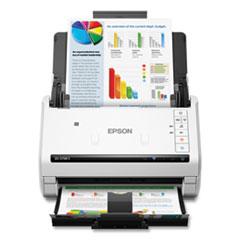 Epson® DS-575W II Wireless Color Duplex Document Scanner, 600 dpi Optical Resolution, 50-Sheet Duplex Auto Document Feeder