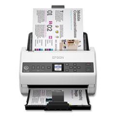 Epson® DS-730N Network Color Document Scanner, 600 dpi Optical Resolution, 100-Sheet Duplex Auto Document Feeder