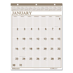 House of Doolittle(TM) Large Print 100% Recycled Monthly Wall Calendar
