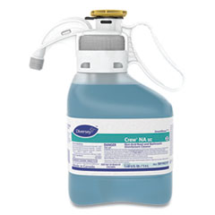 Diversey™ Crew Non-Acid Bowl and Bathroom Disinfectant Cleaner, Floral, 47.3 oz, 2/Carton