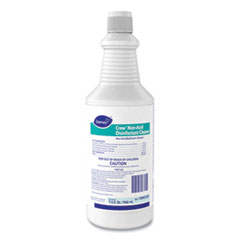 Diversey™ Crew Neutral Non-Acid Bowl and Bathroom Disinfectant, 32 oz Squeeze Bottle, 12/Carton