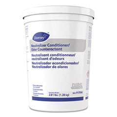 Diversey™ Floor Conditioner/Odor Counteractant, Powder, 1/2oz Packet, 90/Tub, 2/Carton