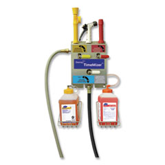 Diversey™ J-Fill Time Mizer Spray System, 2.5 L, Two Dispenser, 13 x 7.5 x 21.61, Stainless Steel