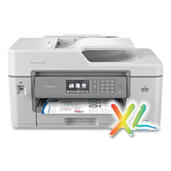 Brother MFCJ6545DWXL XL Extended Print INKvestment Tank Color Inkjet All-in-One Printer with Up to 2-Years of Ink In-Box