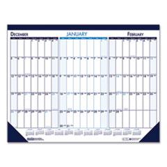 House of Doolittle™ Three Month Desk Pad Calendar, 22 x 17, 2021-2023