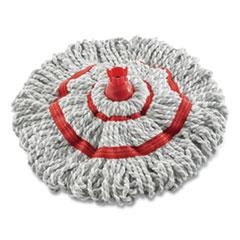"Rubbermaid® Microfiber Twist Mop Refill, 16"", White"