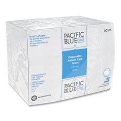 Georgia Pacific® Professional Pacific Blue Select™ Disposable Patient Care Washcloths