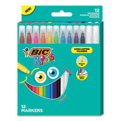 BIC® Kids® Coloring Magical Effects Markers