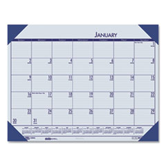 House of Doolittle(TM) EcoTones® 100% Recycled Monthly Desk Pad Calendar