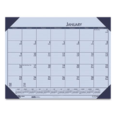 House of Doolittle™ EcoTones® 100% Recycled Monthly Desk Pad Calendar