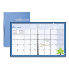 House of Doolittle™ Seasonal Monthly Planner, 10 x 7, 2022