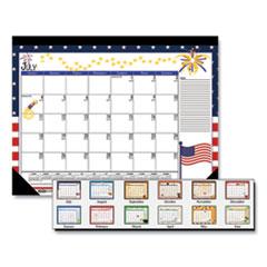 House of Doolittle(TM) 100% Recycled Seasonal Desk Pad Calendar