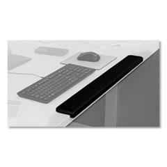3M™ Gel Wrist Rest for Standing Desks, 30.13 x 3.25 x 1, Black
