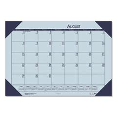 House of Doolittle(TM) EcoTones® 100% Recycled Academic Desk Pad Calendar