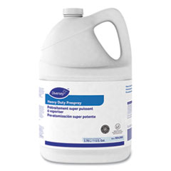 Diversey™ Carpet Cleanser Heavy-Duty Prespray, Fruity Scent, 1 gal Bottle, 4/Carton