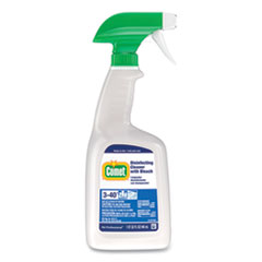 Comet® Disinfecting Cleaner with Bleach, 32 oz, Plastic Spray Bottle, Fresh Scent