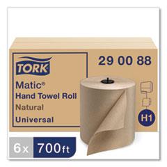 "Tork® Matic Hardwound Roll Towel,  7.7"" x 700 ft, Natural, 6 Rolls/Carton"