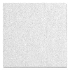 """Calla Ceiling Tiles, Non-Directional, Square Tegular (0.56""""), 24"""" x 24"""" x 1"""", White, 10/Carton"""