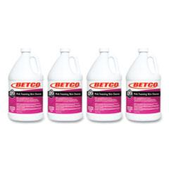 Betco® Pink Foaming Skin Cleanser, Fresh, 1 gal Bottle, 4/Carton