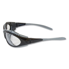 Bouton® Optical Fuselage Safety Goggles, Black Frame, Clear Lens