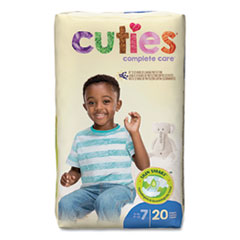 Cuties® Premium Jumbo Diapers