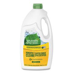 Seventh Generation® Natural Automatic Dishwasher Gel, Lemon, 42 oz Bottle