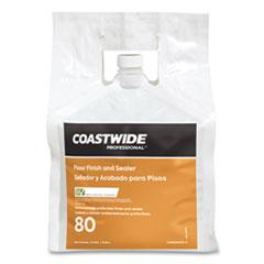 Coastwide Professional™ Floor Finish and Sealer, Unscented, 2.5 gal Bag, 2/Carton