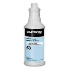 Coastwide Professional™ Plastic Bottle with Graduations, For Use With Coastwide Professional 63 Odor Eliminator Carpet Cleaner, 32 oz
