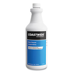 Coastwide Professional™ Glass Cleaner, Unscented, 0.95 L Bottle, 6/Carton