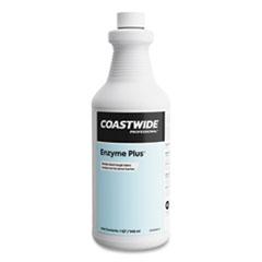 Coastwide Professional™ Enzyme Plus Multi-Purpose Concentrate, Lemon Scent, 1 qt Bottle, 6/Carton