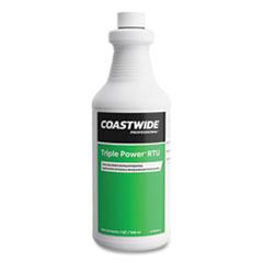 Coastwide Professional™ Triple Power Degreaser, Citrus Scent, 0.95 L Bottle, 6/Carton