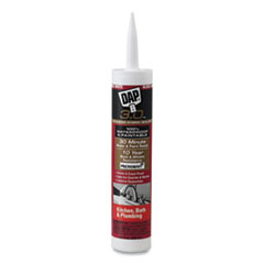 DAP® 3.0 Kitchen, Bath and Plumbing High Performance Sealant, 9 oz Capsule/Cartridge, Gloss White