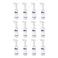 Diversey™ Lite Touch CRT and Plexiglas Cleaner, 32 oz Spray Bottle, 12/Carton