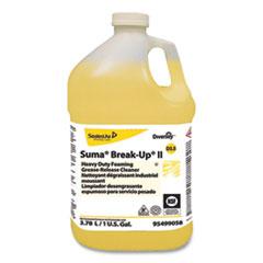 Diversey™ Suma Break-Up II D3.5 Heavy-Duty Foaming Grease-Release Cleaner, 128 oz Bottle, 4/Carton