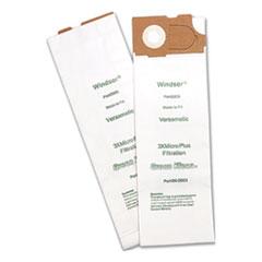 Green Klean® Replacement Vacuum Bags, Fits AllStar Javelin/Triple S Prosense II/Windsor Versamatic, 10/Pack
