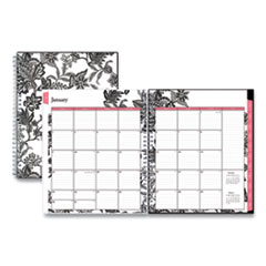 Blue Sky® Analeis Monthly Planner, 10 x 8, Black Cover, 2022